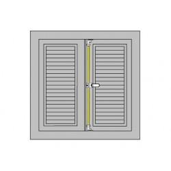349199 - Tringle de volet L2400 grise